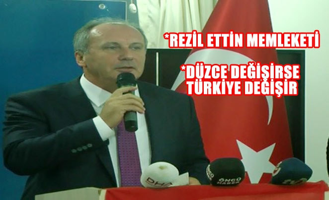 İNCE'DEN 'İNCE MESAJLAR'