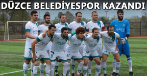 ÇİLİMLİ BELEDİYESPOR 10 KİŞİYE RAĞMEN KAZANDI