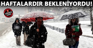 METEOROLOJİ KAR İÇİN TARİH VERDİ