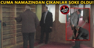 CEDİDİYE CAMİİ'NDE HIRSIZLIK!