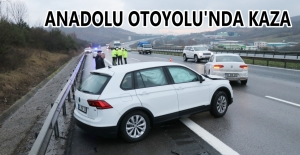 İKİ OTOMOBİL ÇARPIŞTI: 4 YARALI