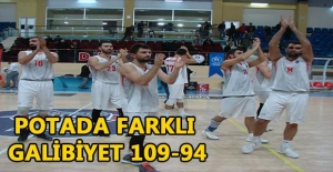 POTADA FARKLI GALİBİYET 109-94