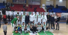 BASKETBOLCULARDAN RAHAT GALİBİYET